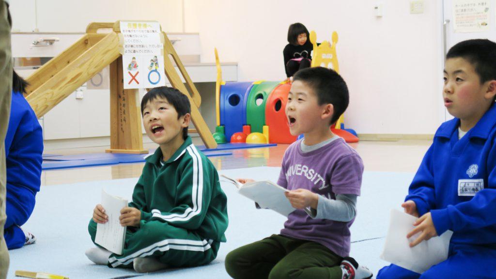 子ども歌舞伎練習