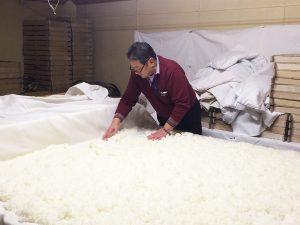 室:米麹づくり